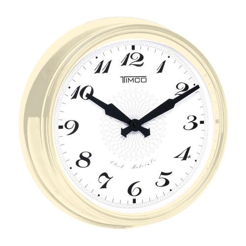 reloj de pared marco de aluminio 38 cm hyw118b