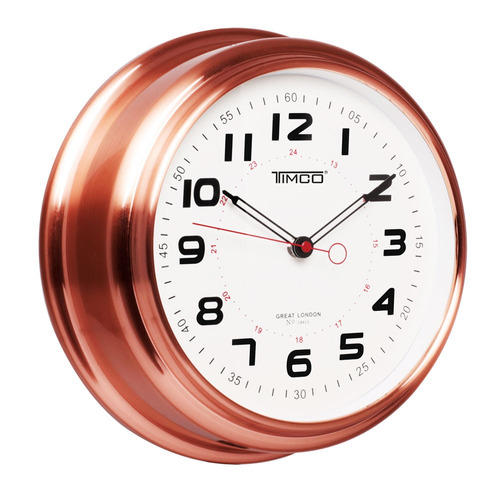 reloj de pared marco de cobre 30 cm hyw183