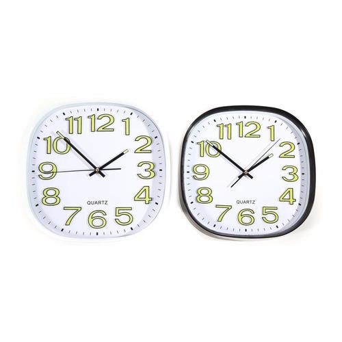 reloj de pared números luminosos 30 cm - hay de todo!