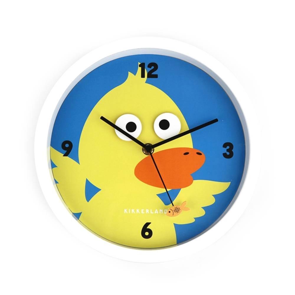 Reloj de pared pato loco se mueven los ojos dise o - Reloj de pared de diseno ...