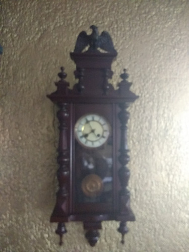 reloj de pared péndulo antiguo lucca
