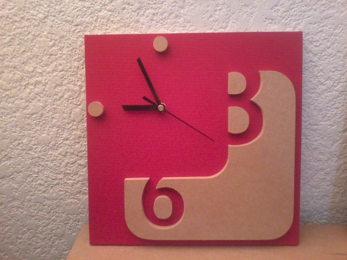 Reloj de pared promocional de dise o con tu logo o imagen - Reloj de pared de diseno ...