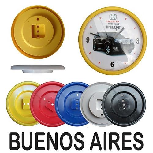 Reloj de pared publicitario 25 cm buenos aires yokadi - Relojes de pared personalizados ...
