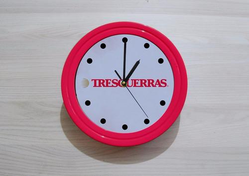 reloj de pared publicitario (batería incluída) para empresas
