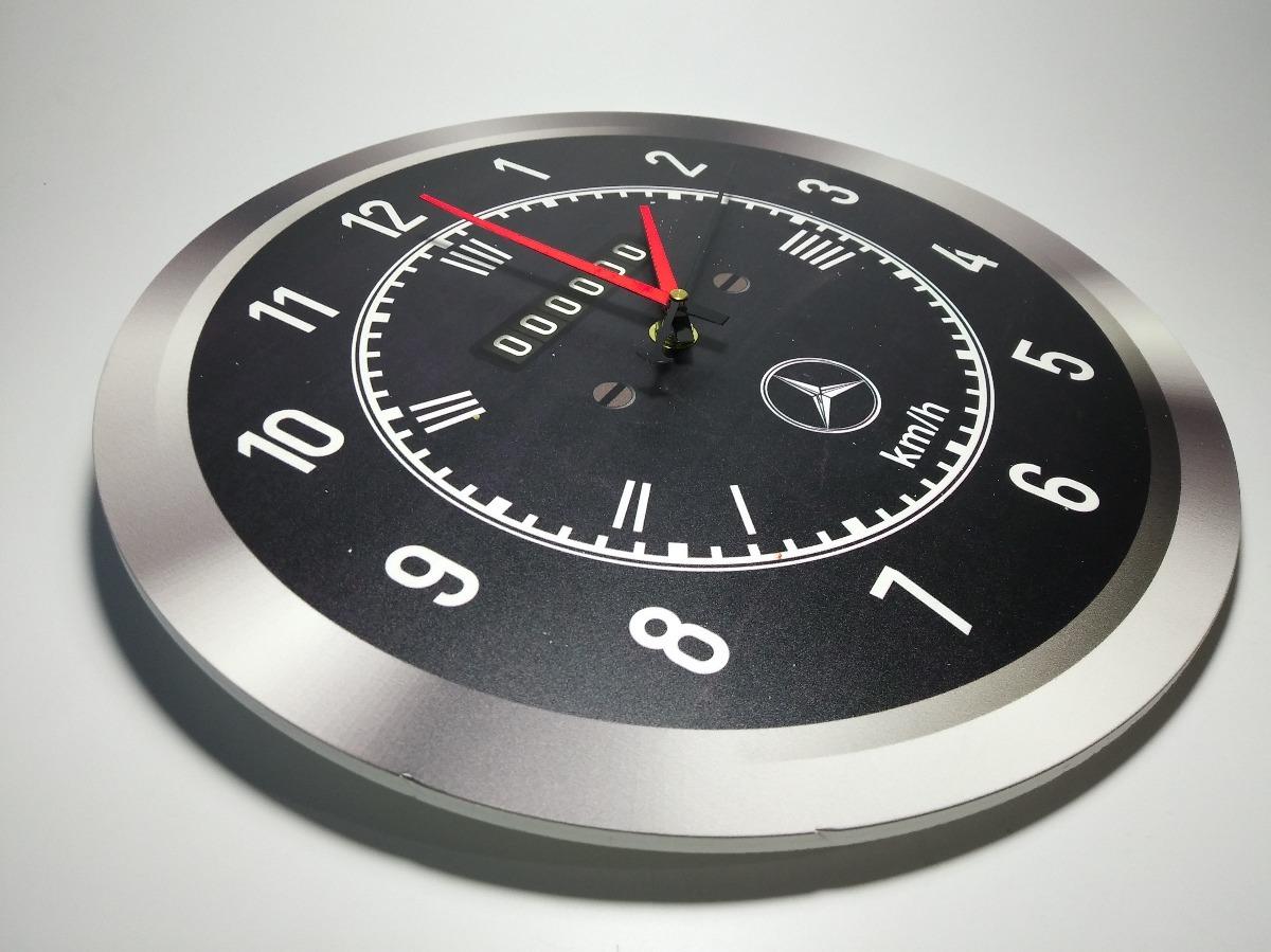 Benz Pvc Camion Reloj 1114 30cm De Modelo Mercedes Pared P8wkX0ONn