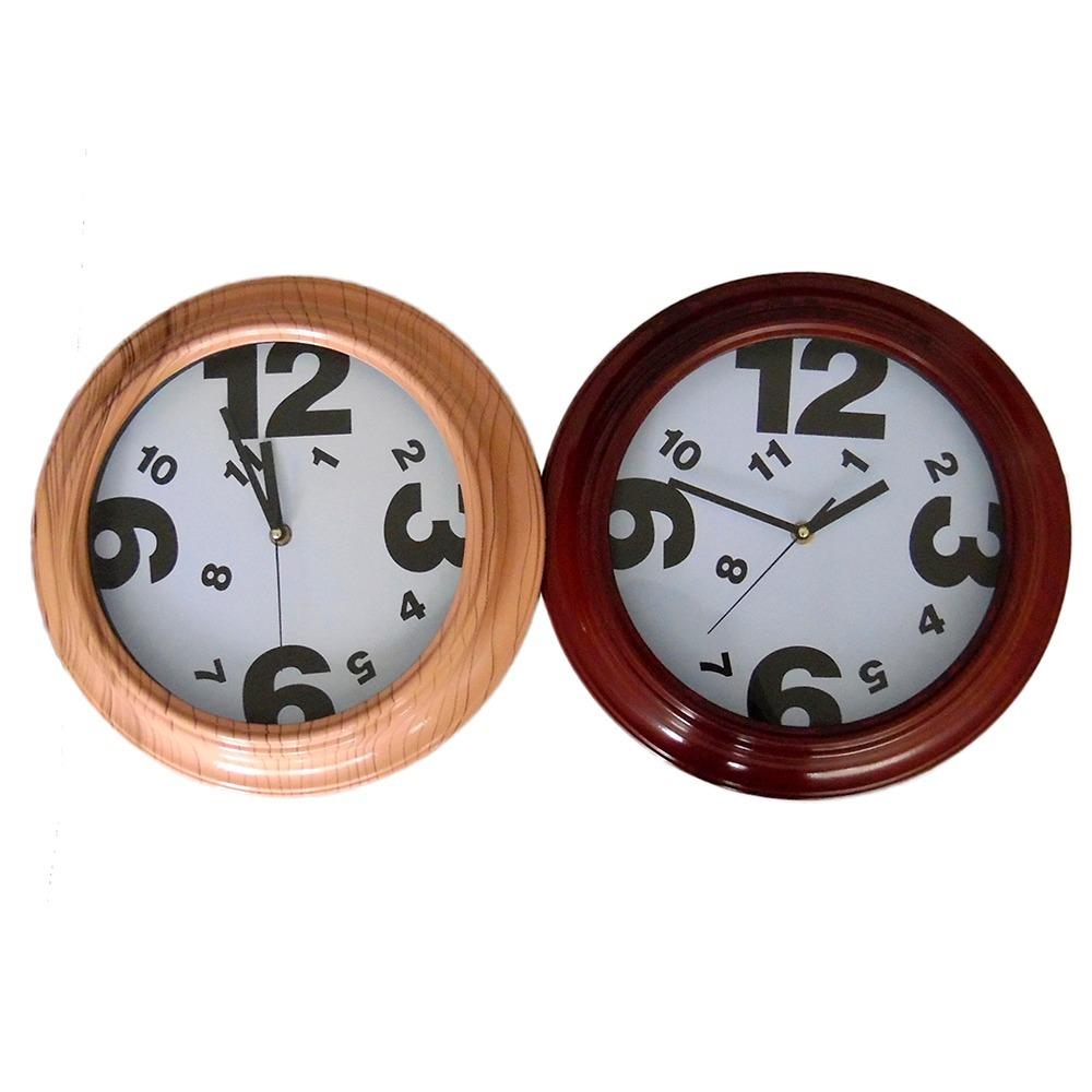 Reloj De Pared Redondo Con Dibujo De Numeros Dispersos 100 00 En