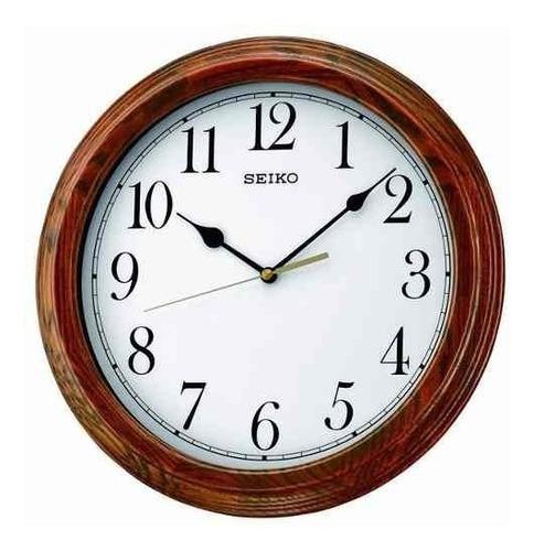 reloj de pared seiko qxa528b | original | agente oficial
