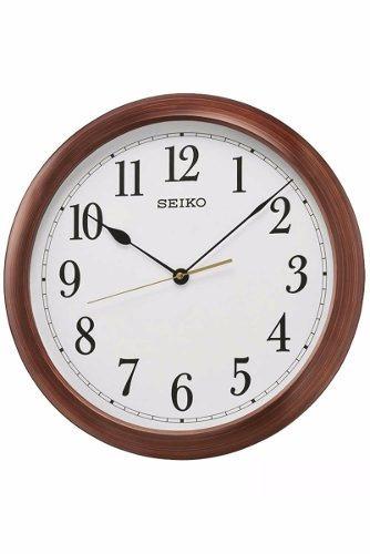 reloj de pared seiko qxa598b   original   agente oficial