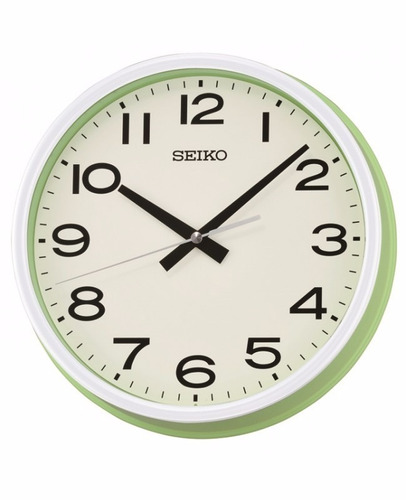 reloj de pared seiko qxa645m   original   envío gratis
