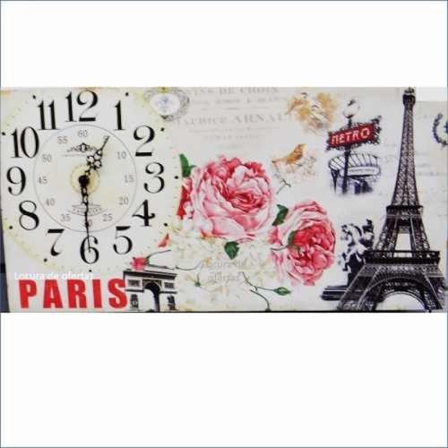 reloj de pared tablon decorativo diseño hermoso novedoso