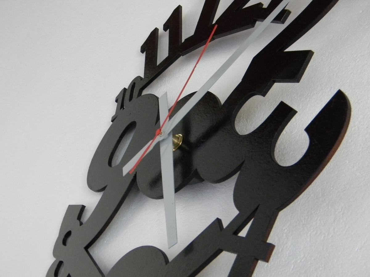 Reloj De Pared Troquelado + Diseños Modernos Varios Colores - $ 350 ...