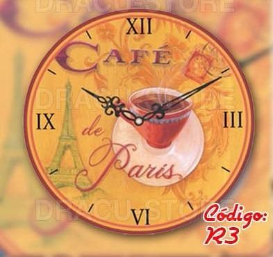 reloj de pared vintage - 6 modelos disponibles - 30cm