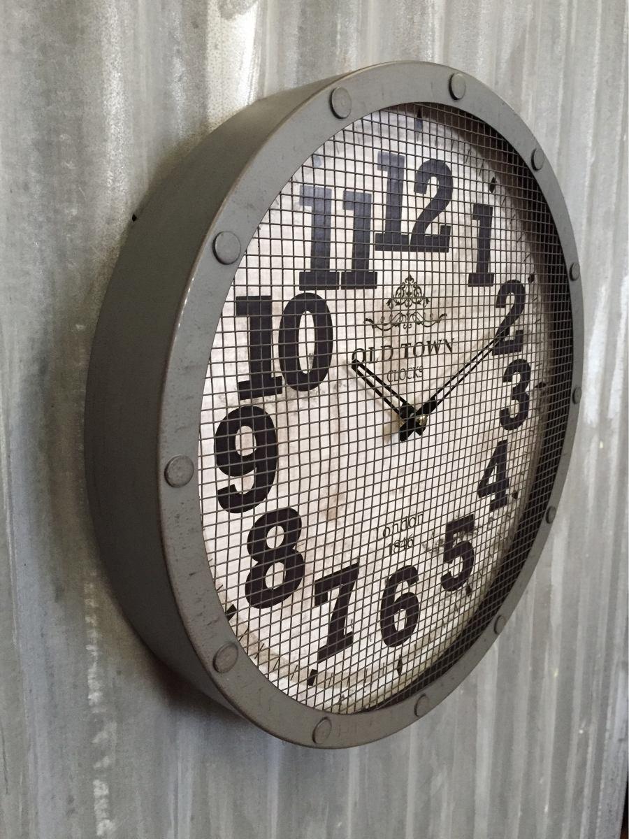 Reloj De Pared Vintage Old Town 38 Cm 849 00 En Mercado Libre ~ Relojes Grandes De Pared Vintage