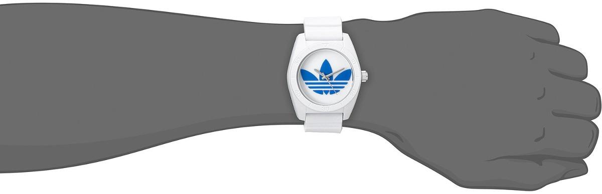 Reloj De Plástico Blanco adidas Unisex Adh2921 Santiago