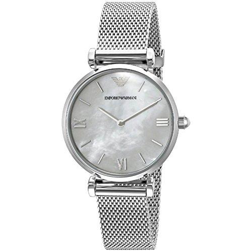 9d2d9ac89e3e Reloj De Plata Retro Ar1955 Emporio Armani Para Mujer -   862.777 en  Mercado Libre