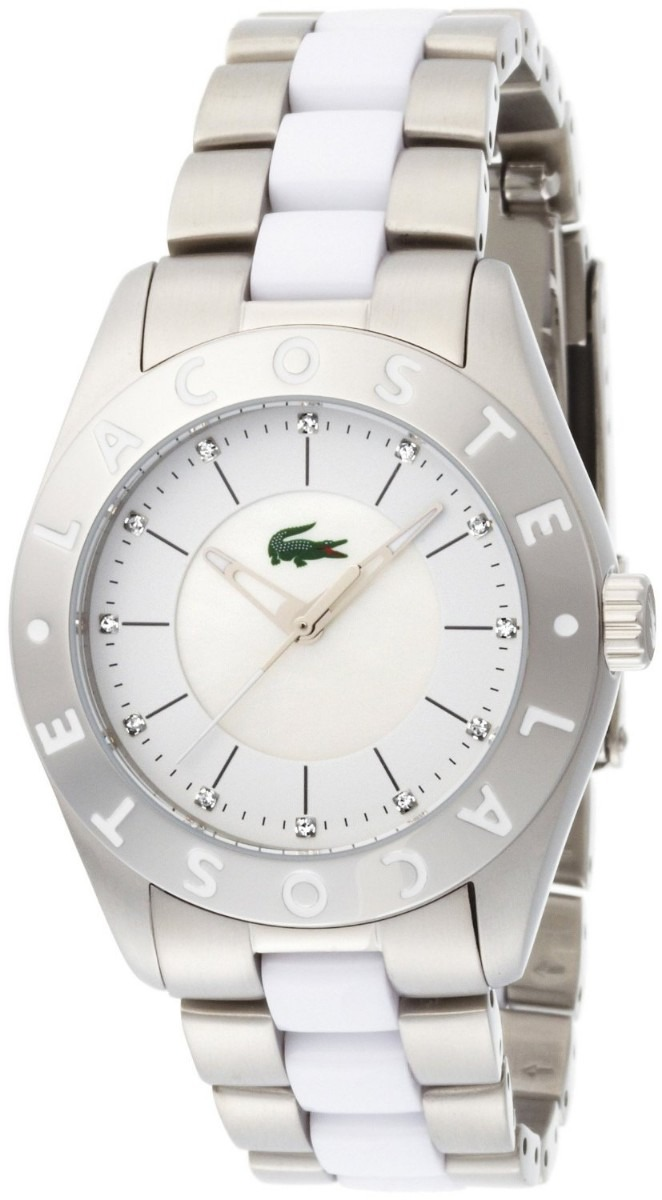 Reloj De Pulcera Lacoste Para Mujer 2000535 Inoxidable Pm0
