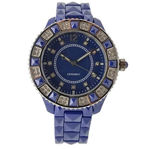 31191670c955 Reloj De Pulsera Analogico De Ceramica Genuina Para Mujer Co ...