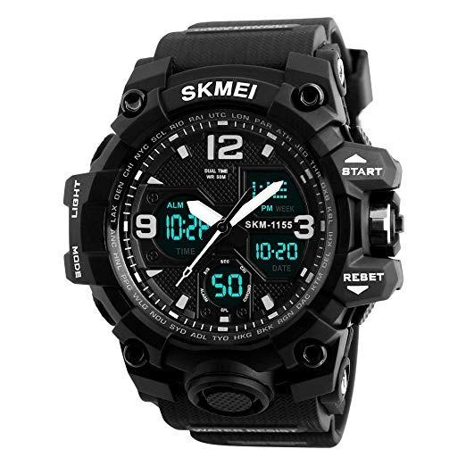 Reloj De Pulsera Analógico Digital Deportivo Para Hombre Re ... abb891ff098b