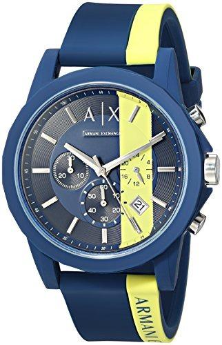 6874abd83f31 Reloj De Pulsera Azul Activo Armani Exchange Para Hombre Ax ...