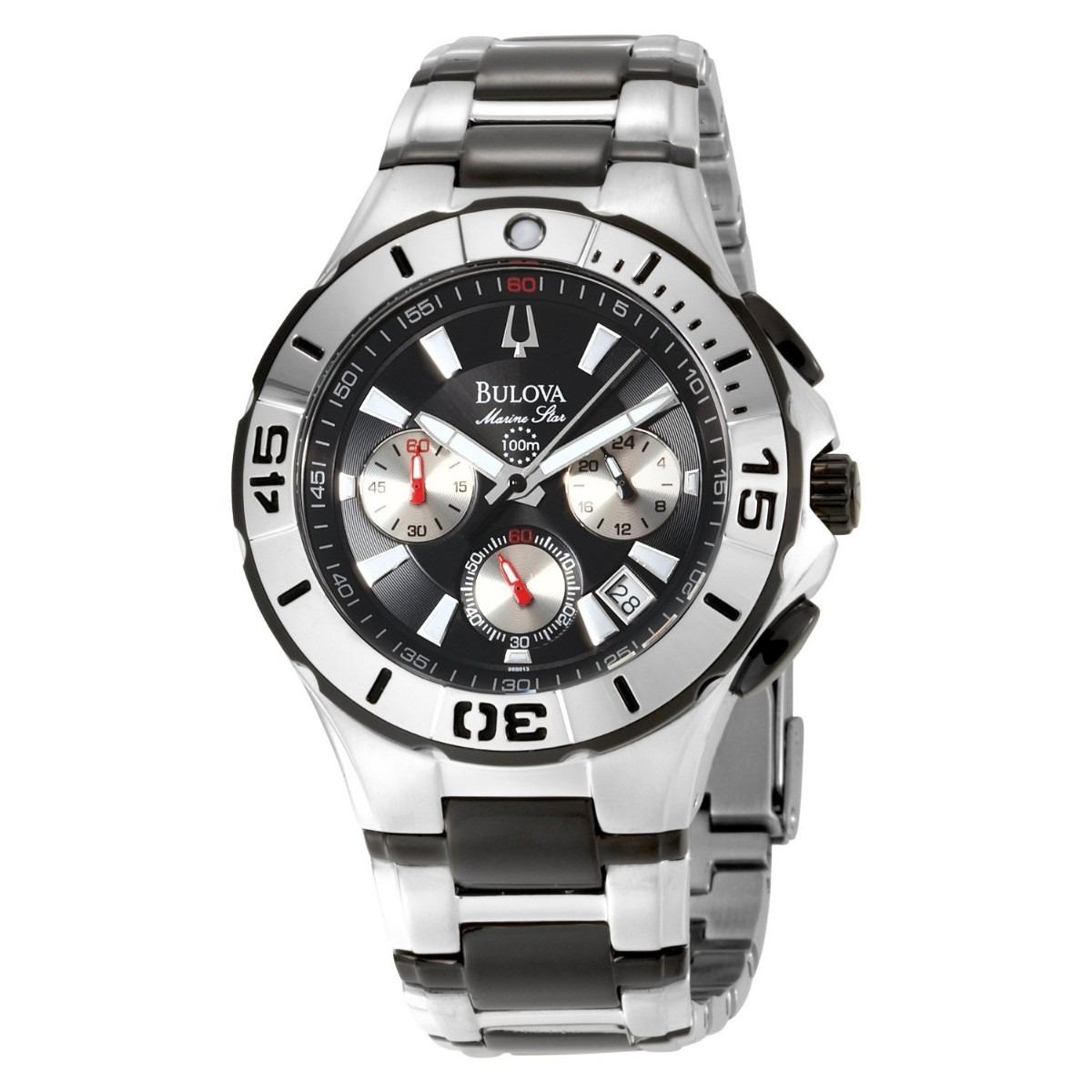 Reloj De Pulsera Bulova Para Hombre 98b013 Pm0 -   5 2ae66b71c922
