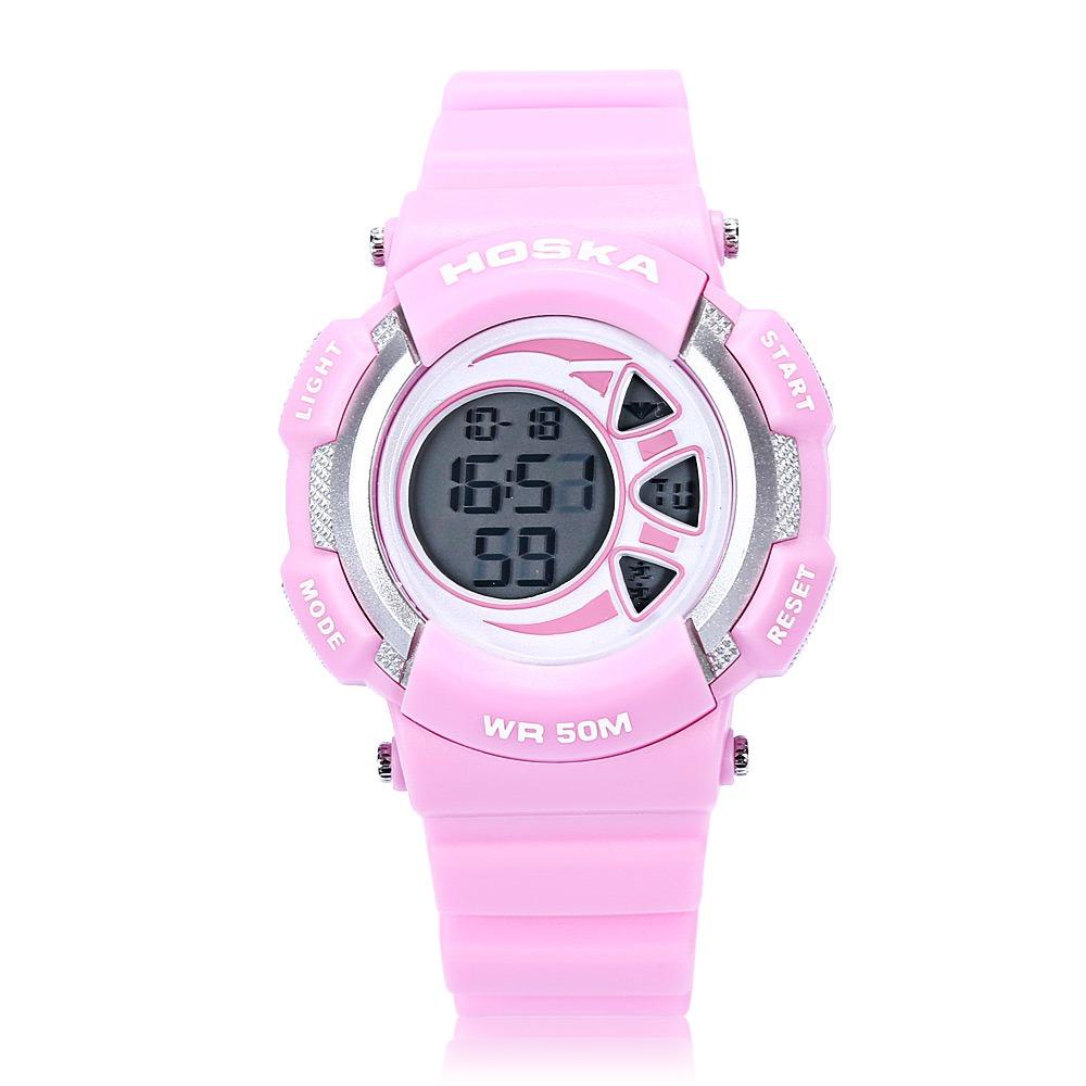 ce8dd7a69ac5 reloj de pulsera calendario hoska niños led digital 5atm. Cargando zoom.