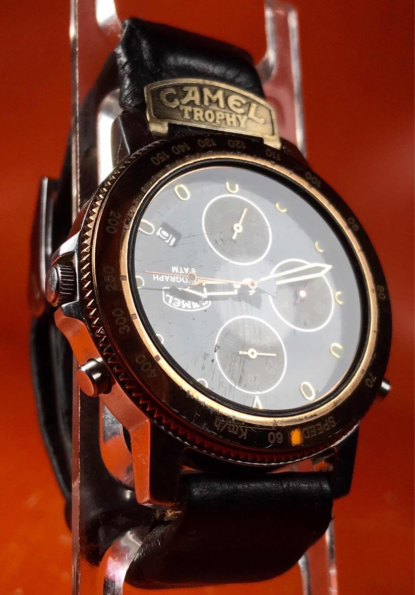 500 Cronógrafo Reloj PulseraCamel De Original11 00 Trophy Yfgyb76