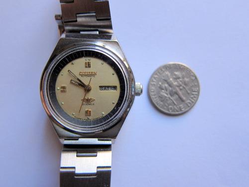 reloj de pulsera citizen mecánico automático 21 joyas