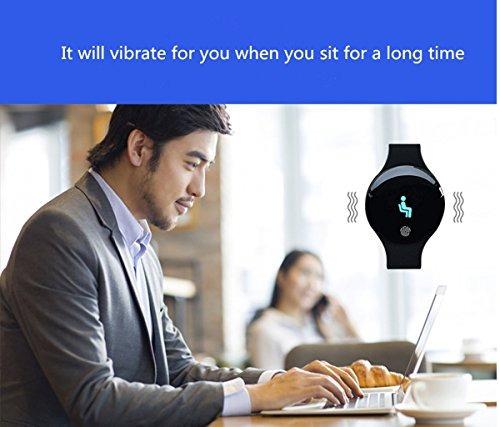 reloj de pulsera con reloj inteligente, monitor de sueño,