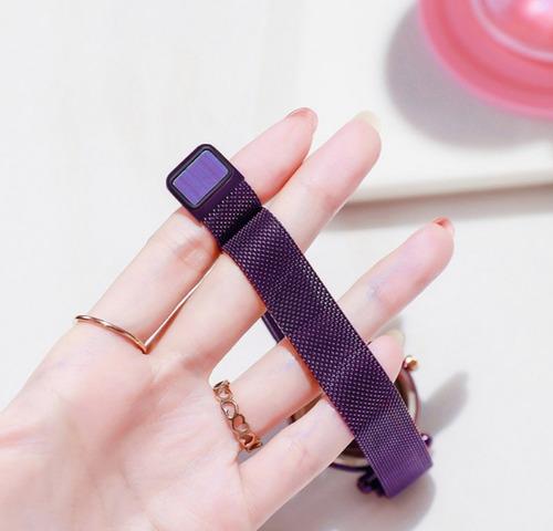 reloj de pulsera de cuarzo con correa magnética-mayoreo