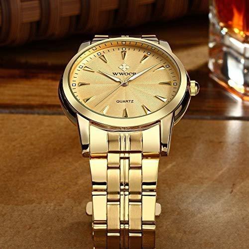 reloj de pulsera de cuarzo de lujo para hombre reloj simple