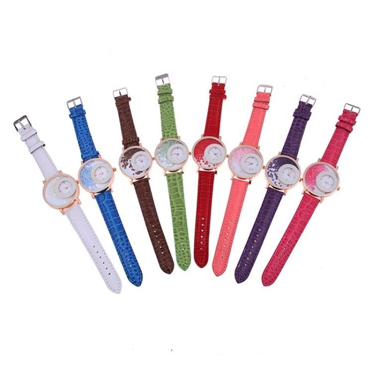 fb1884b89140 Reloj De Pulsera De Cuero Para Dama Fn -   510.00 en Mercado Libre