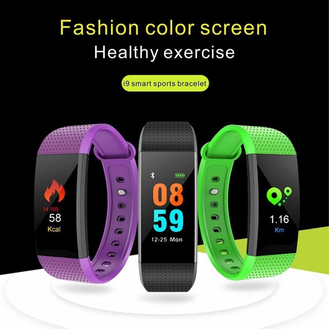 308783a06eb4 reloj de pulsera deportivo unisex de 9 piezas con presión a. Cargando zoom.
