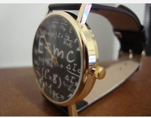 reloj de pulsera geek álgebra, números, matemáticas