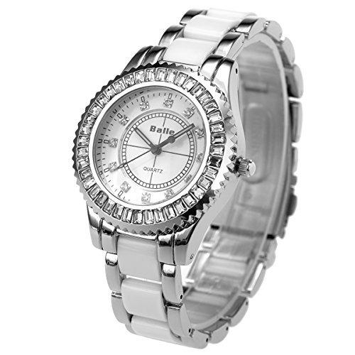a8359b871552 Reloj De Pulsera Lady Mujer Niña Banda De Ceramica Sibosun -   34.990 en  Mercado Libre