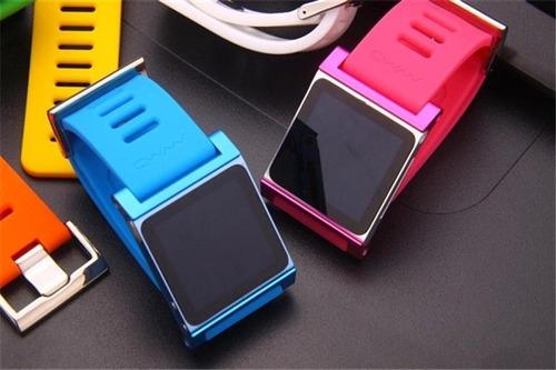 reloj de pulsera lunatik wimo correa protector ipod nano 6