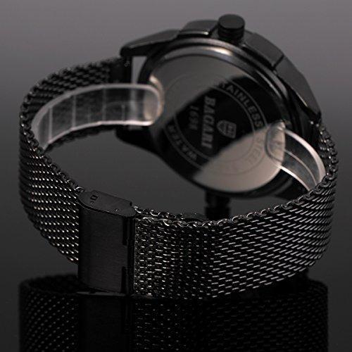 De Con Acero Pulsera Inoxidable Malla Reloj Para Hombre B WD9IeHYE2b
