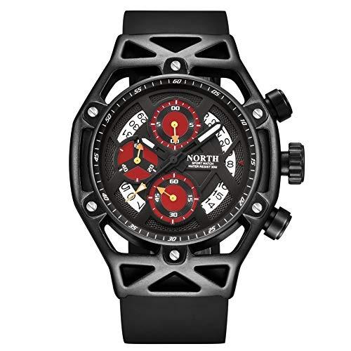 5c7c95682 Reloj De Pulsera Para Hombre Cronógrafo Militar Relojes Depo ...