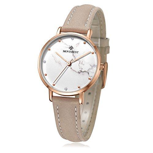 3eca89333fb2 Reloj De Pulsera Para Mujer Simple Business Casual Moda Relo ...