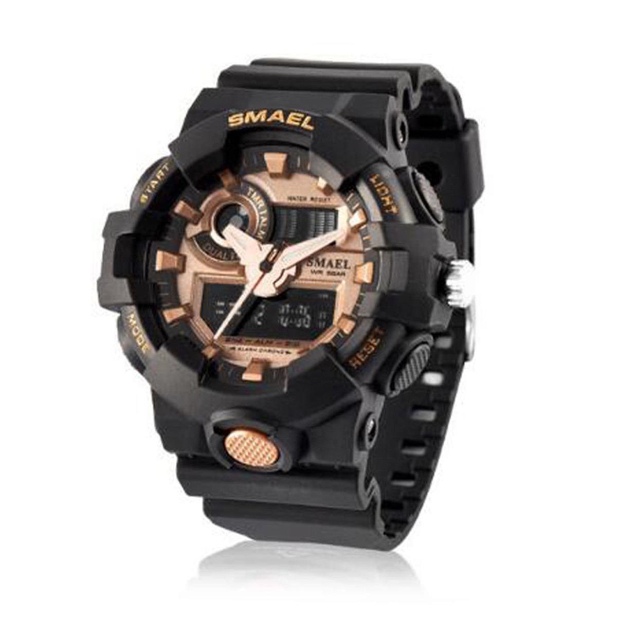 25547ecd0acc Reloj De Pulsera Resistente Al Agua 50 Metros... (gold) -   37.990 ...