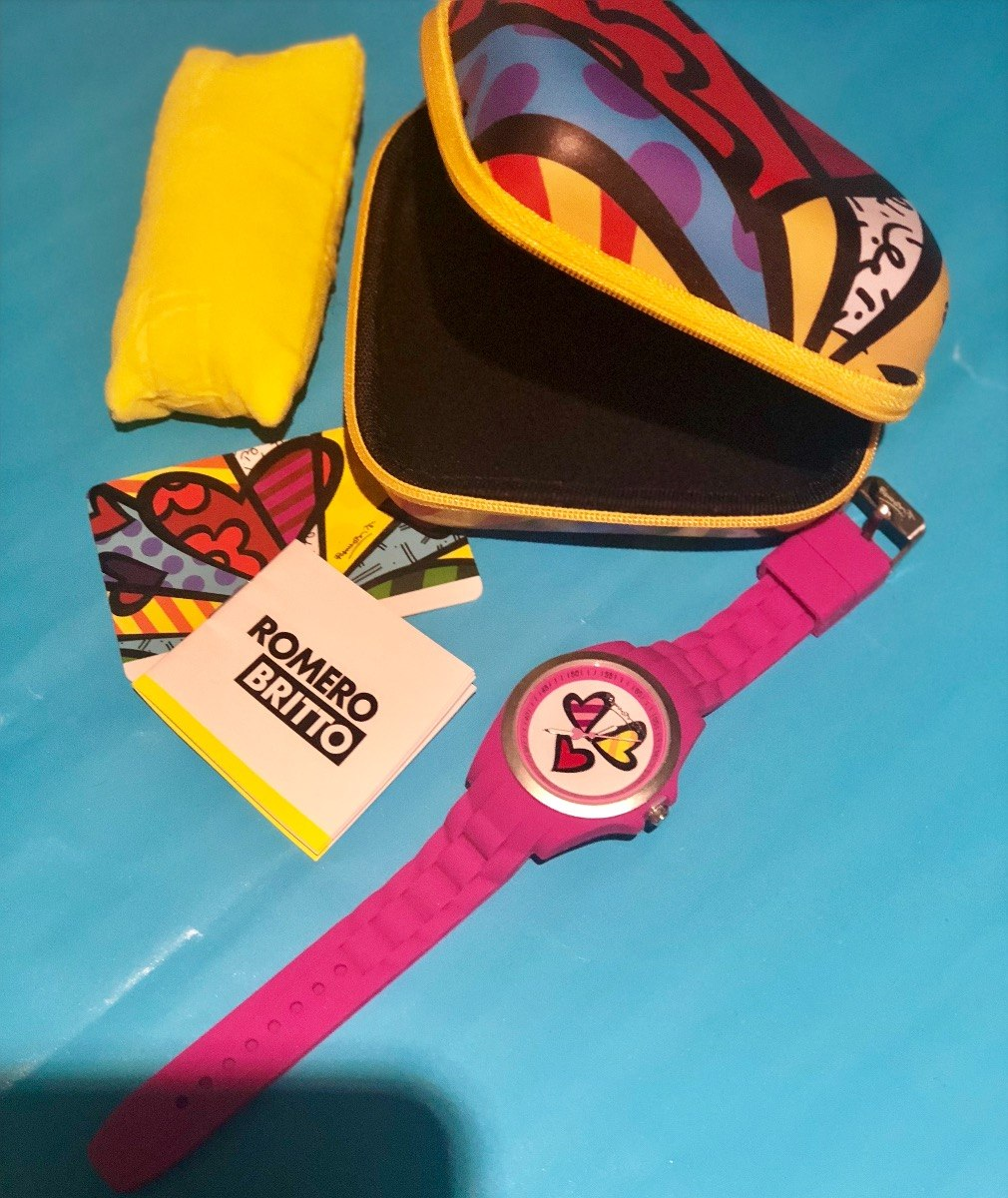 Reloj Mujer Britto Pulsera Envio De Con Para Romero Gratis YyIfgb6v7