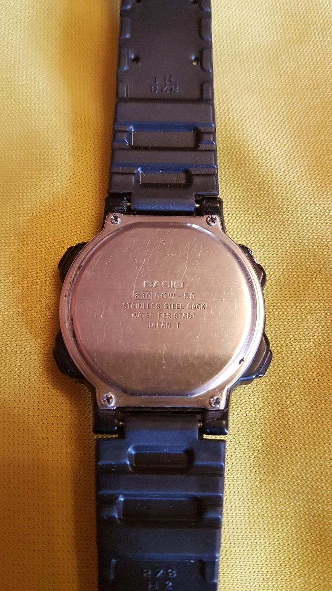 Reloj Casio 00 Vintage Cgw 800 De Graph1 Pulsera Bio 50 0nkwP8O