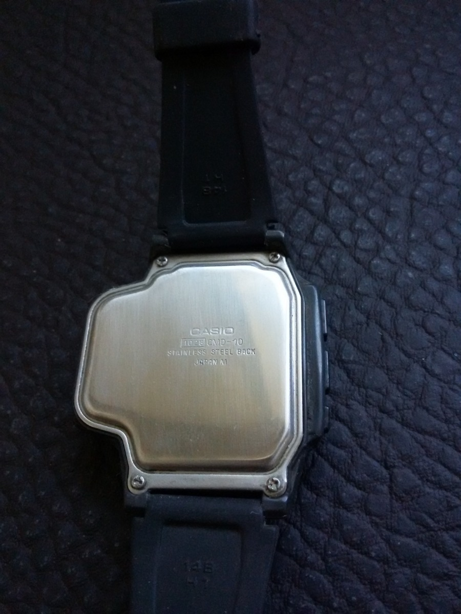 9fa965d037eb reloj de pulsera vintage casio cmd-10 ..control tv. Cargando zoom.