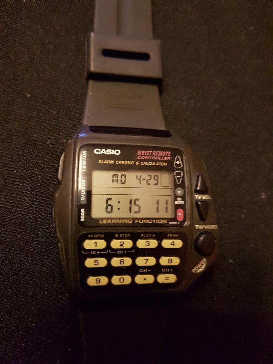 b2528144a591 reloj de pulsera vintage casio cmd-40b control tv.. Cargando zoom.