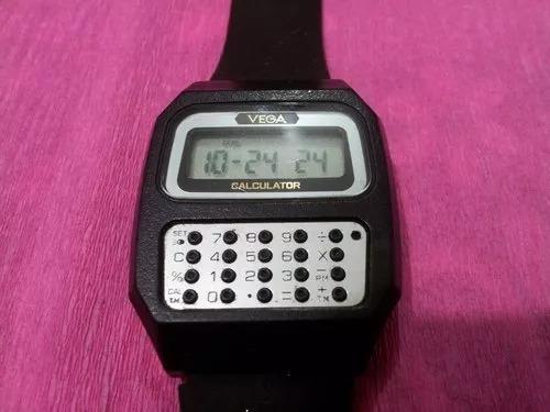reloj de pulsera vintage citizen calculator vega