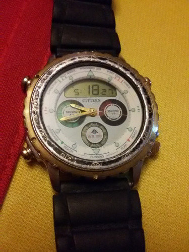 reloj de pulsera  vintage citizen promaster