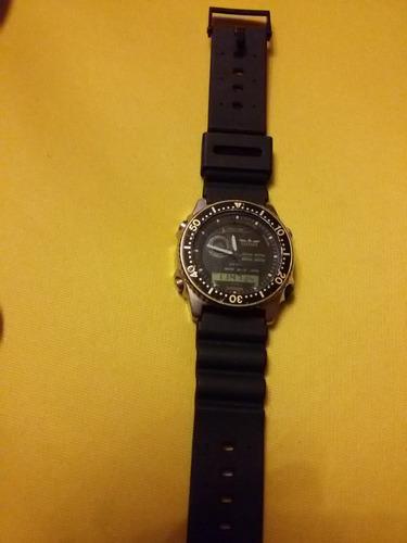 reloj de pulsera vintage citizen promaster multi timer