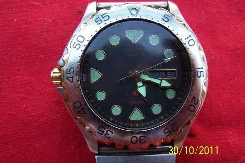 reloj de pulsera vintage citizen quartz