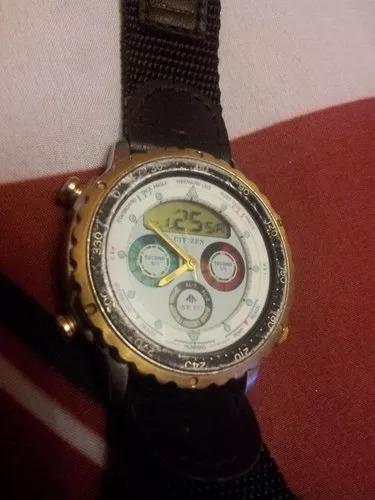 reloj de pulsera vintage citizen wr 100