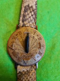 0df7d0e97cd3 Reloj De Pulsera Vintage Fossil Sundial