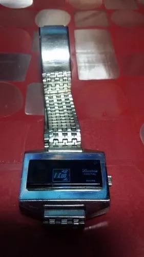 reloj de pulsera vintage lucerne digital